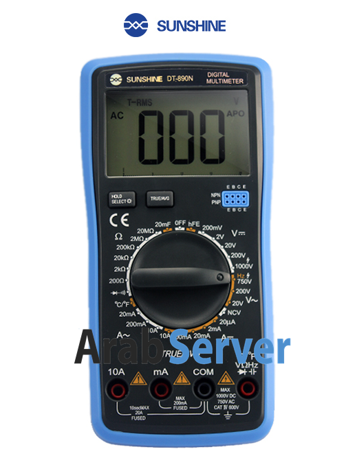 Digital Multimeter DT-890N